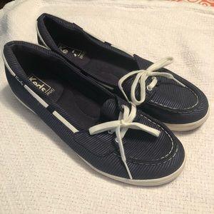 Keds Ortholite navy slip-on shoes 8.5